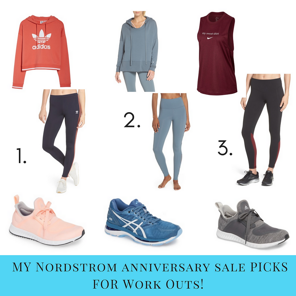 Nordstrom Sale 2018 Workout Clothes