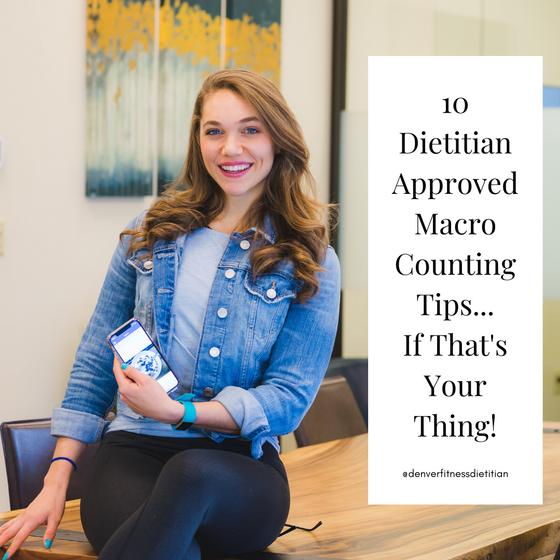10 Dietitian Approved Macro Hacks!