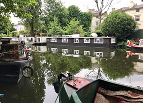 A Summer Day in Little Venice, London