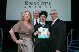 Recipient of the Paper Mill Playhouse 2016 Rising Star Award for Best Leading Actor