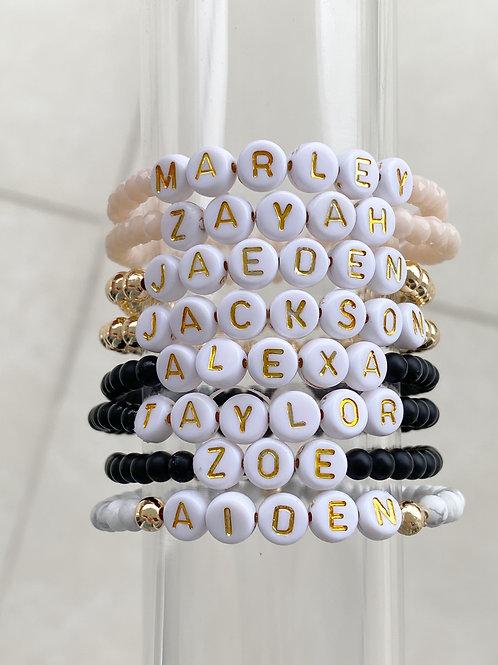 Custom Name or Word Bracelet