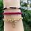 Thumbnail: Gold Link Chain Letter Bracelet