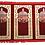 Thumbnail: Extra Large Quality Velvet Triple Prayer Mat