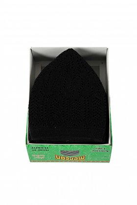 Mens Prayer Hat Mercan - Black