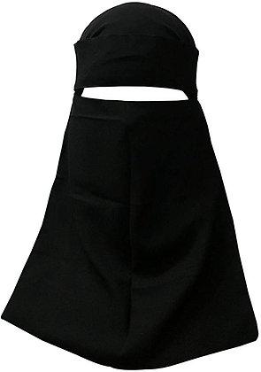 Niqab ( 4 ) Single Layer Fastening