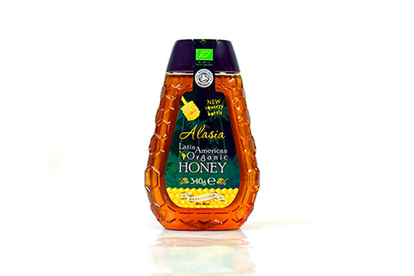 Alasia Organic Honey Squeezy 340gr