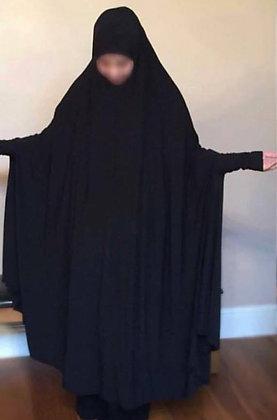 Hijab Abaya Full Length 1 Piece Head to Feet