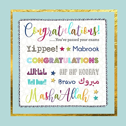 Congratulations...You've Passed Your exams ILM 10