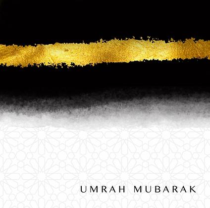 Umrah Mubarak - Black and Gold (18)