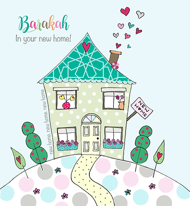 Barakah in your new home! BB 12