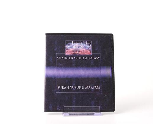 Shaikh Rashid Al Afasy ( Surah Yusuf & Surah Maryam )