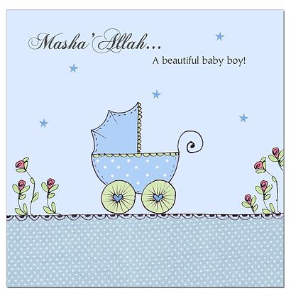 Baby Boy - Blue Pram CD 01