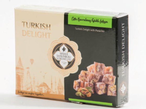 Double Roasted Turkish Delight with Pistachio's