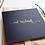 Thumbnail: Eid Mubarak - Rose & Co - Gold Foiled - Navy RC 07