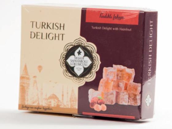 Turkish Delight with Hazelnut