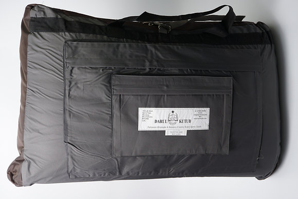 Deluxe Sleeping Bag Full Leather Cover