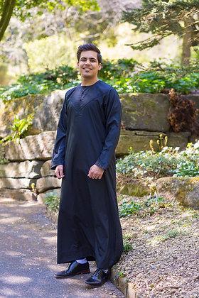 Al Noor Emirati Thobe (Black)