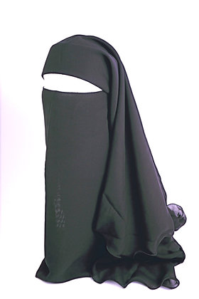 Niqab Extra Large Triple Layer Tie