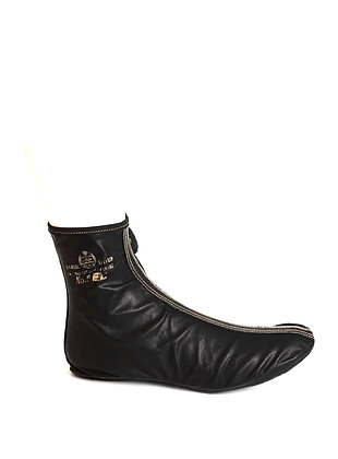 Black Leather khufs ( dk spacial soft leather )