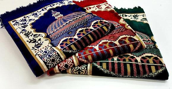 Extra Large Quality Velvet Triple Prayer Mat