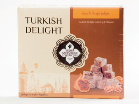 Turkish Delight with Fig & Walnut