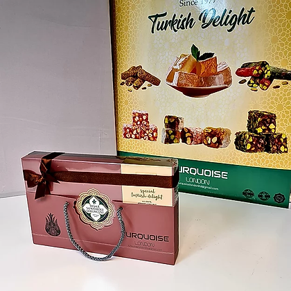 Special Turkish Delight with Walnut's, Date and Apricots