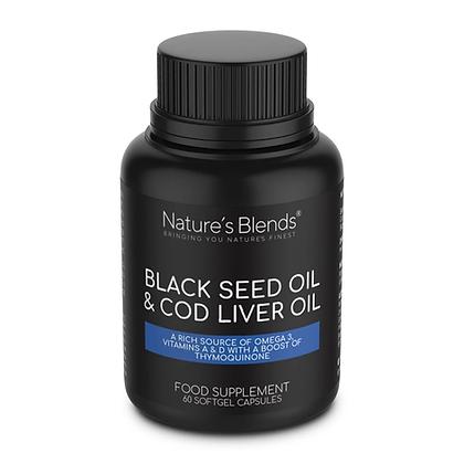 Black Seed Oil & Cod Liver Oil Capsules