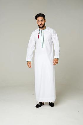 Palestine White Jubba