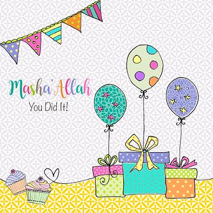 Masha'Allah You Did It BB 08