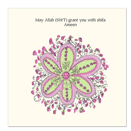 May Allah (SWT) grant you with Shifa. Ameen CD 20