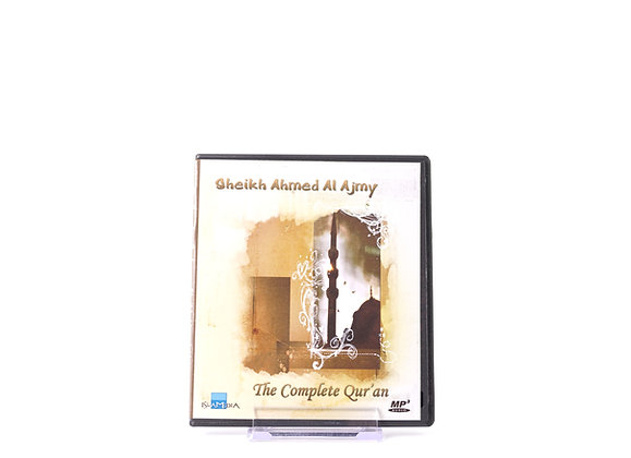 The Complete Quran By Sheikh Ahmed Al Ajmy (MP3)