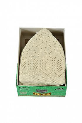 Mens Prayer Hat Mercan - Cream
