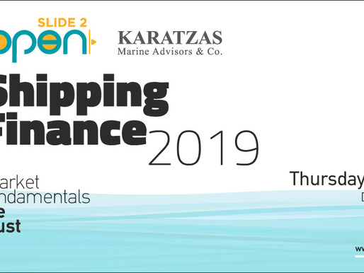 Karatzas Marine Advisors & Co. Hosting its Annual Shipping Conference in Athens, Greece