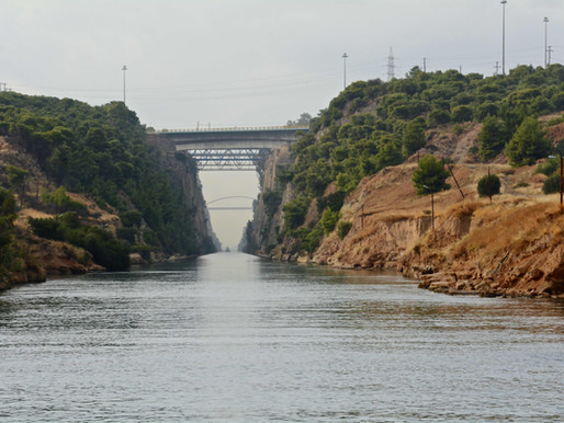 The Corinth Canal in Greece, a Brief History