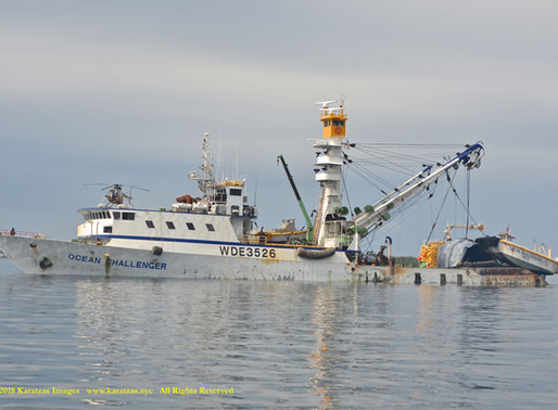Images of American-flagged Tuna Fishing Vessel FV 'Ocean Challenger'