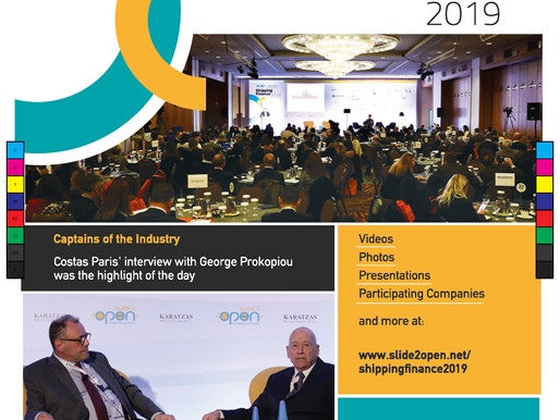 "Shipping Finance 2019 Conference, A ""Must-attend"" Event"