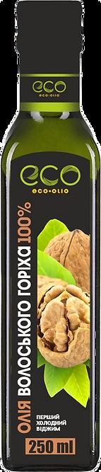 Масло из ядер грецкого ореха. Eco-Olio 250 мл.