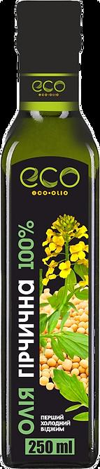 Масло из семян горчицы. Eco-Olio. 250 мл.
