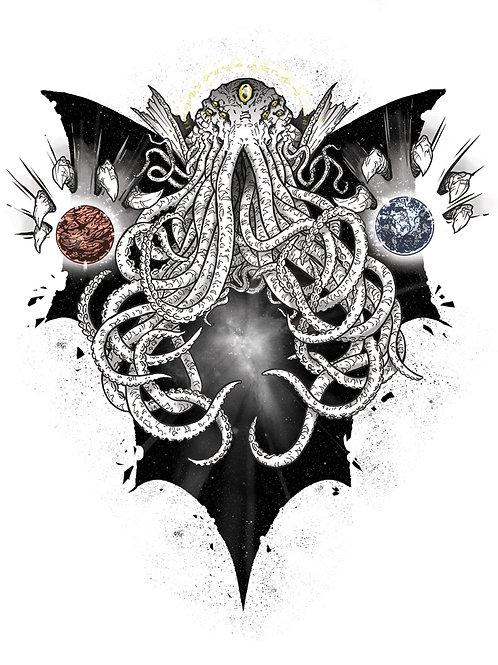 'Cosmic Cthulhu' Print