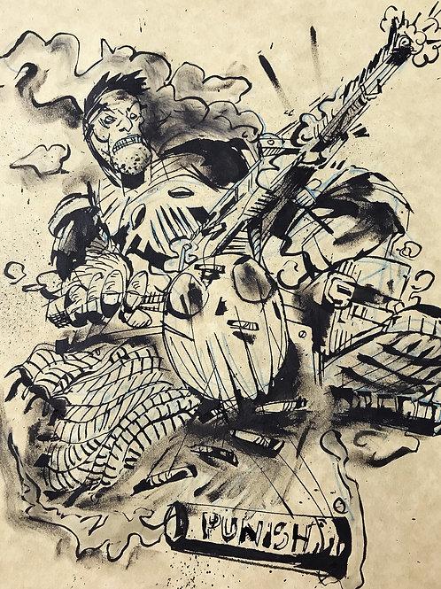 'PUNISHED' Original Artwork