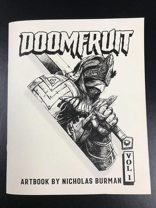 Doomfruit Vol 1, sketchzine by Nicholas Burman
