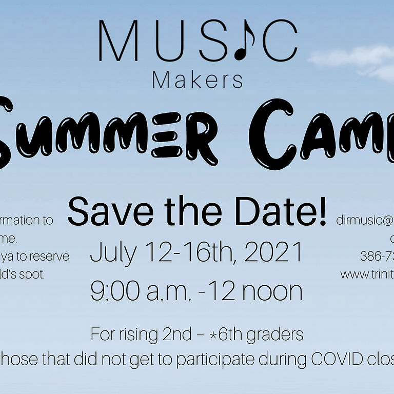 Music Makers Summer Camp