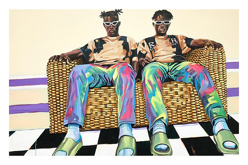 The Couch Boys, Print