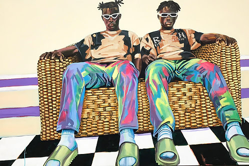 The Couch Boys, Painting