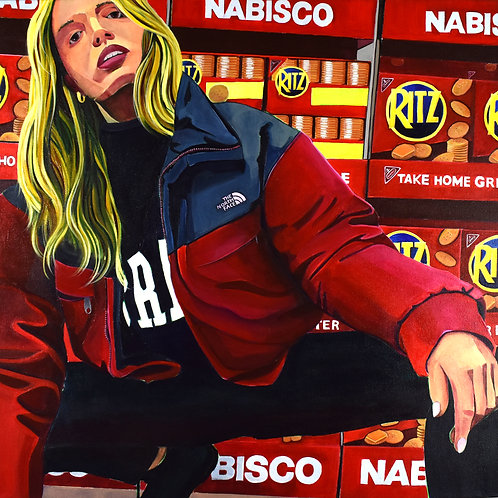 The Ritzy Life on Aisle 6, Painting