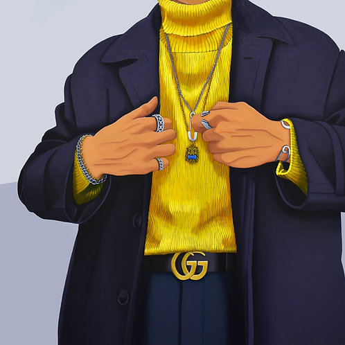 Gucci Gucci Goo 2, Original Painting