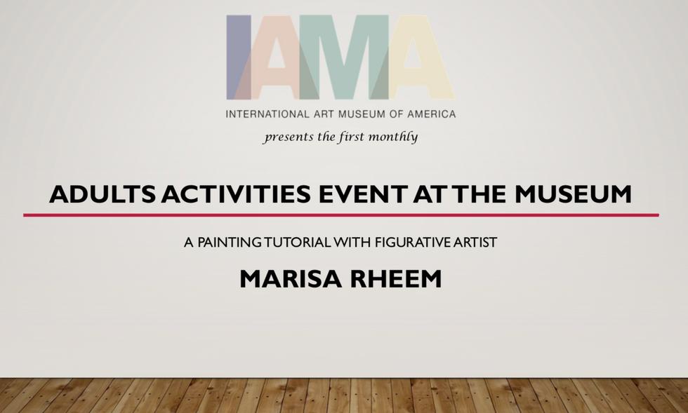 Marisa Rheem at The International Art Museum of America