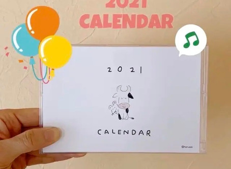 さあ、そろそろカレンダーのご準備を!
