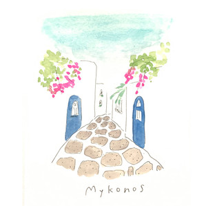 ミコノス島行ってみたい〜