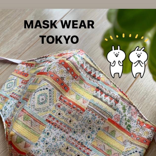 マスクデザイン:MASK WEAR TOKYO